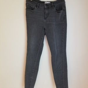 LOFT Gray Wash Jegging